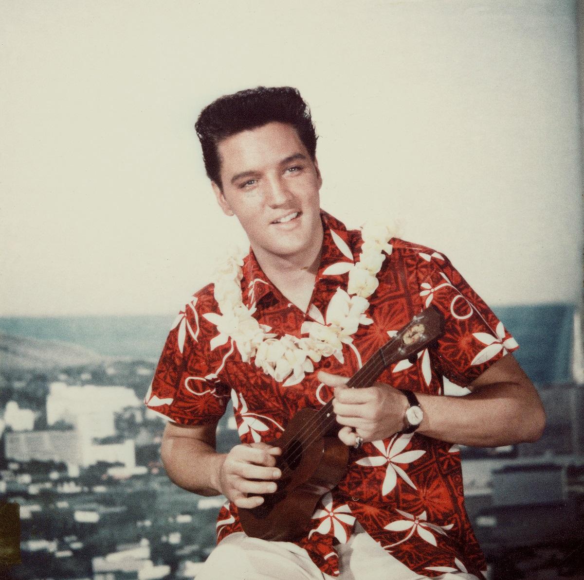 Elvis Presley in 'Blue Hawaii'
