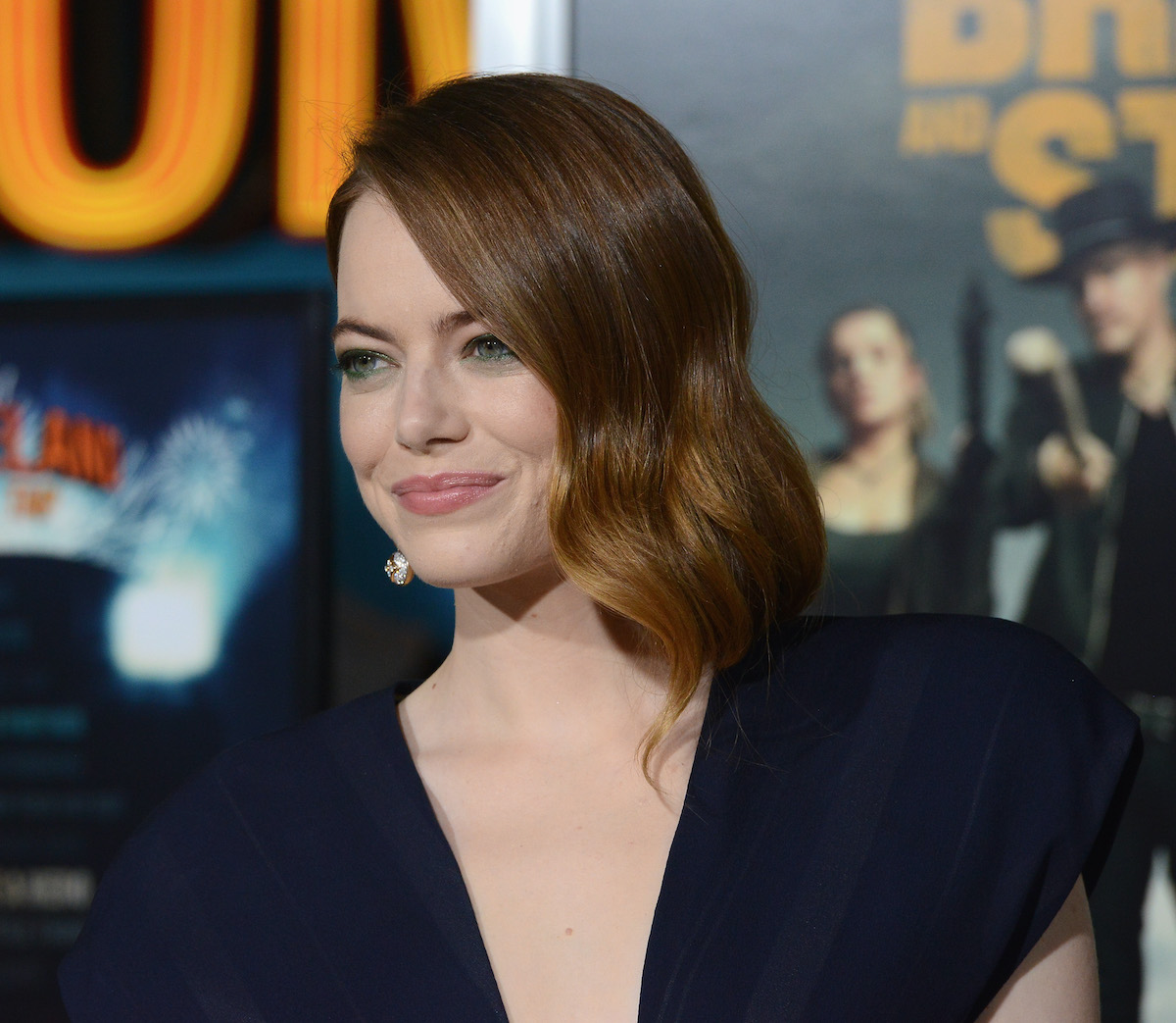 Emma Stone at the 'Zombieland: Double Tap' premiere