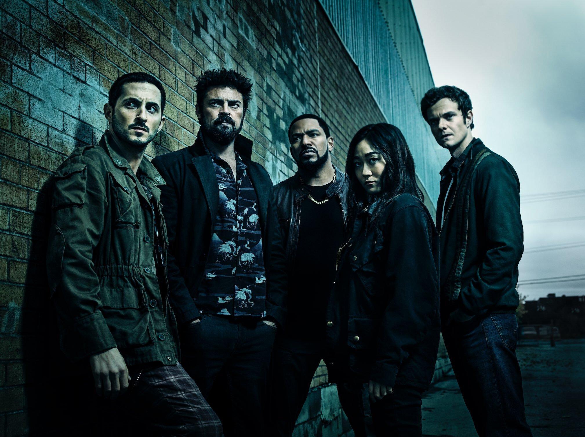 The cast of Amazon's 'The Boys'