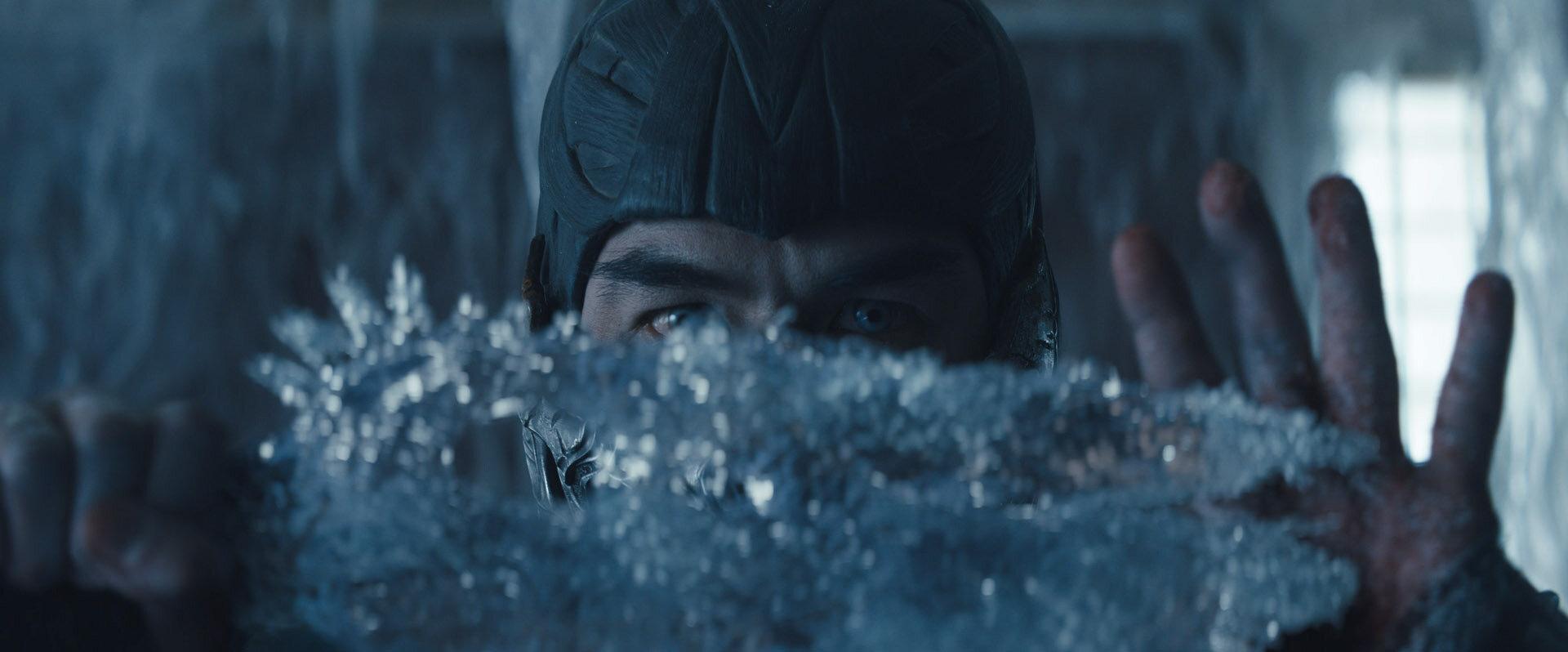 Sub-Zero in the upcoming Mortal Kombat film