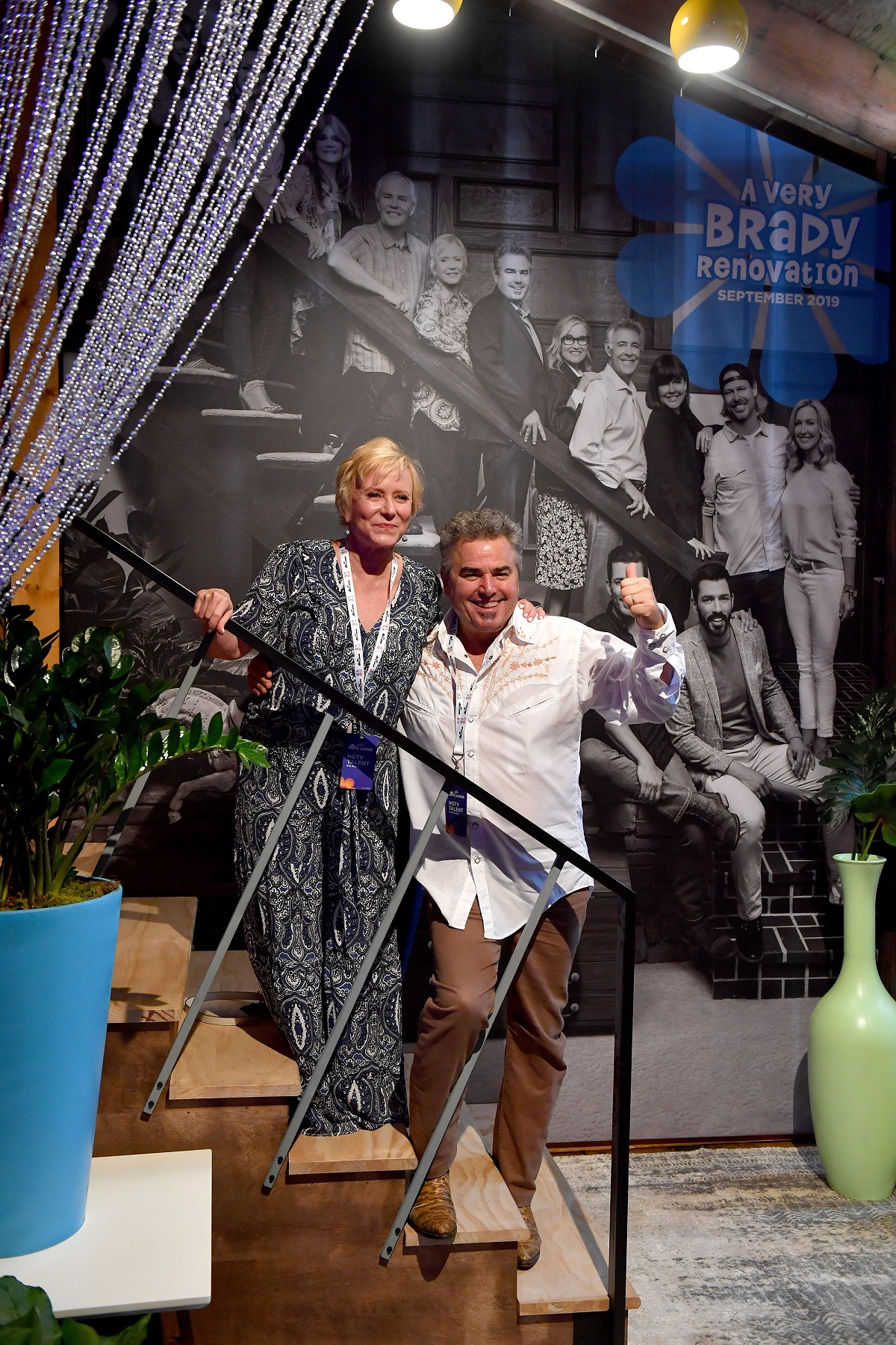 Eve Plumb and Christopher Knight in 2019