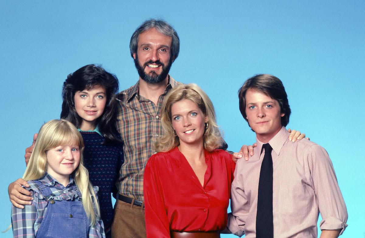 Tina Yothers, Justine Bateman, Michael Gross, Meredith Baxter, and Michael J. Fox