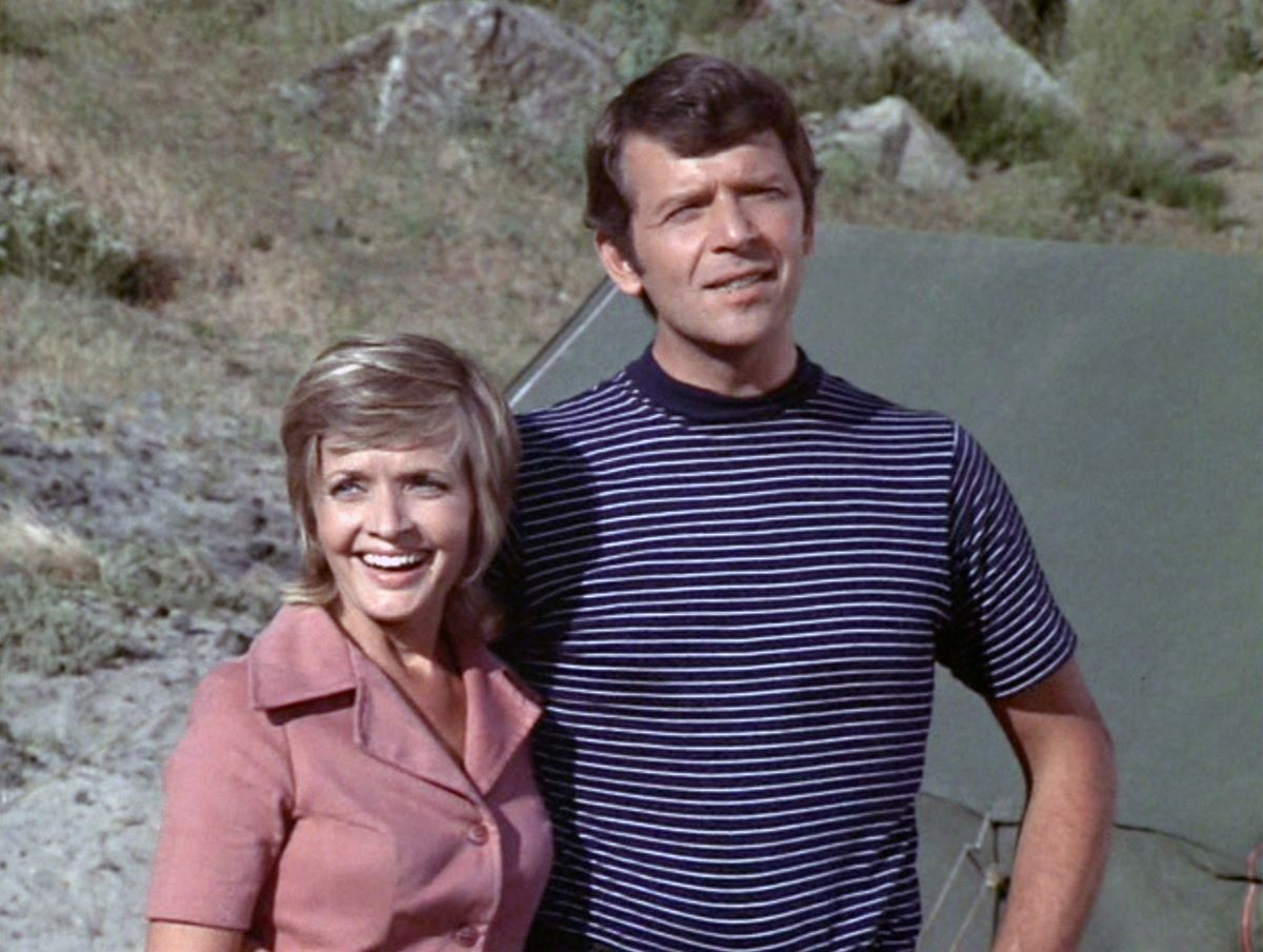Florence Henderson and Robert Reed