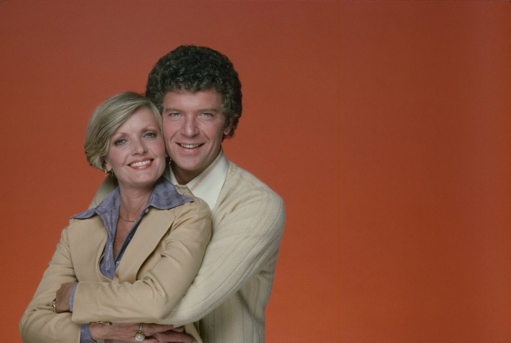 Florence Henderson and Robert Reed in 'The Brady Bunch'