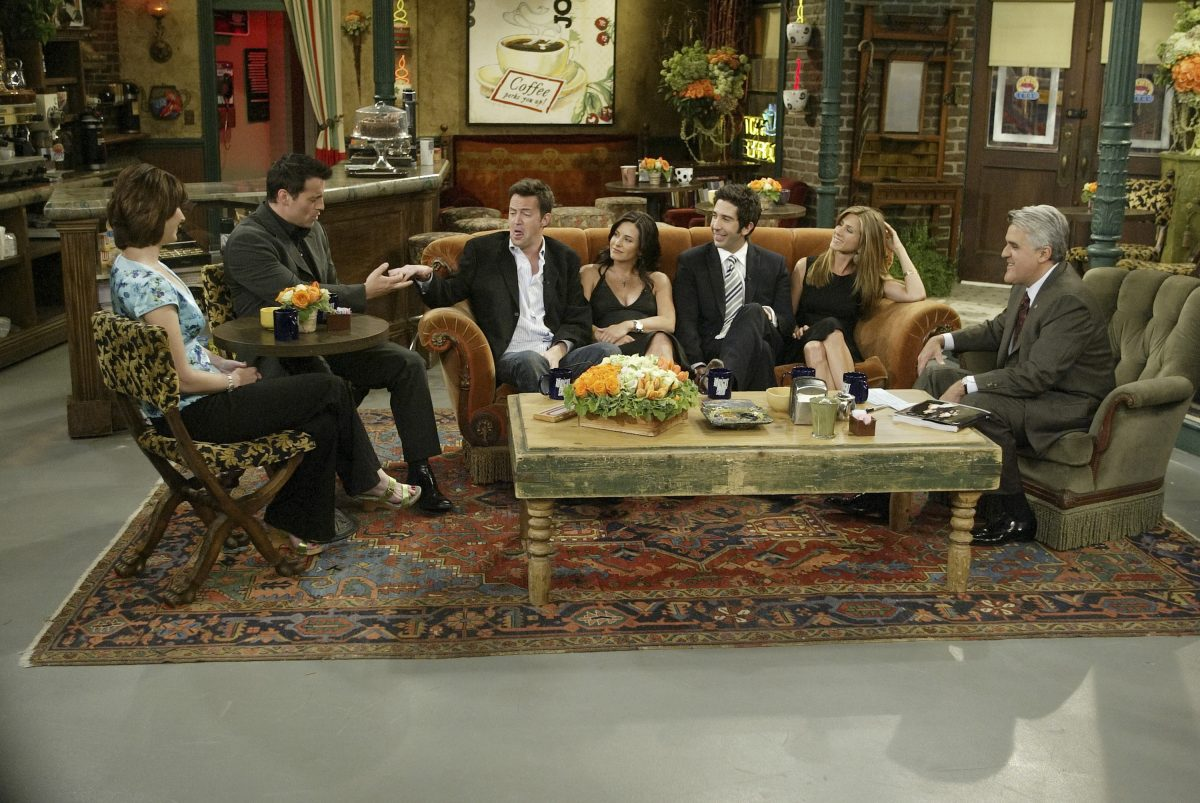 Friends on the Tonight Show
