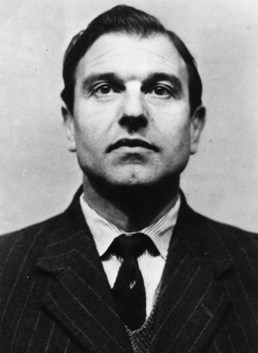 piccture of George Blake that circulated after his release from Wormwood Scrubs in 1966