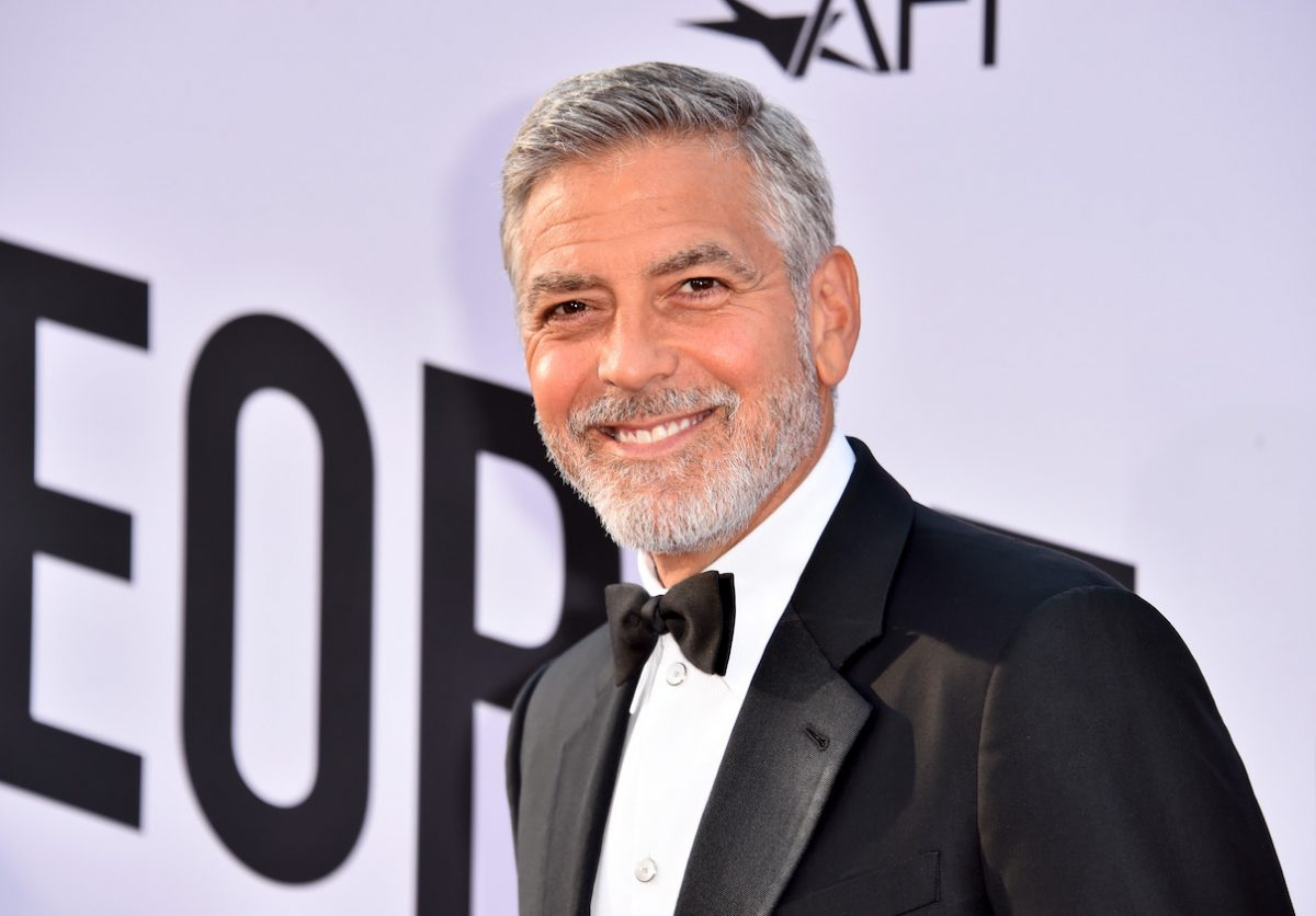 George Clooney arrives at the AFI's Life Achievement Award Gala Tribute to George Clooney
