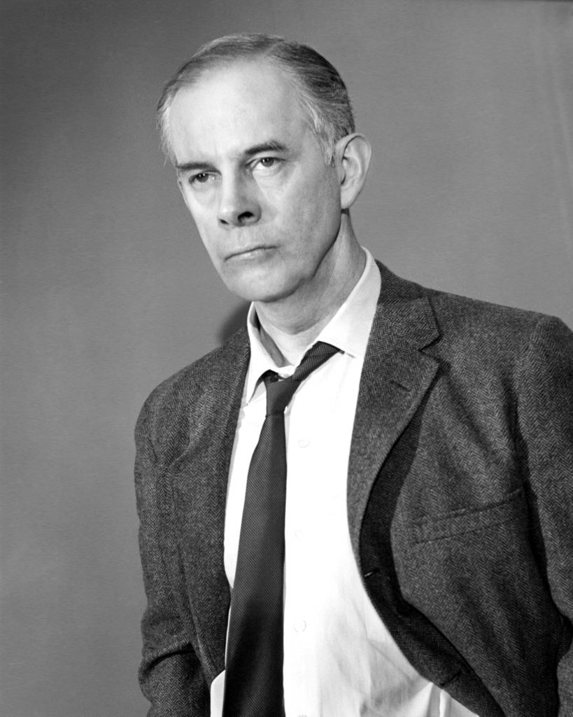 Harry Morgan as Officer Bill Gannon on the 'Dragnet' TV show
