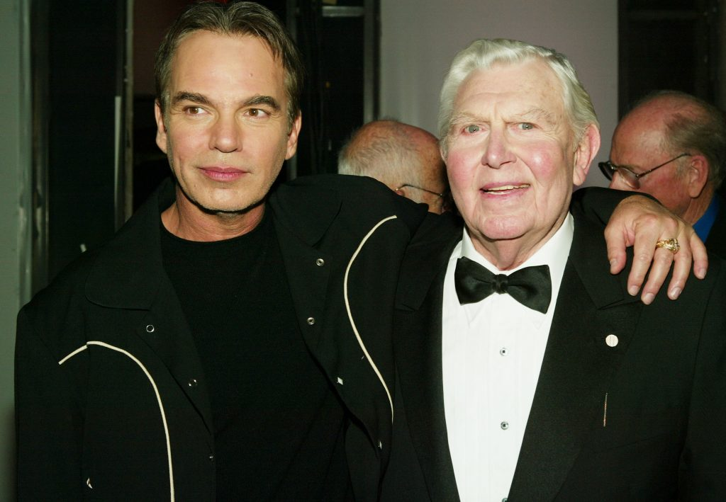 Billy Bob Thornton and Andy Griffith in 2004