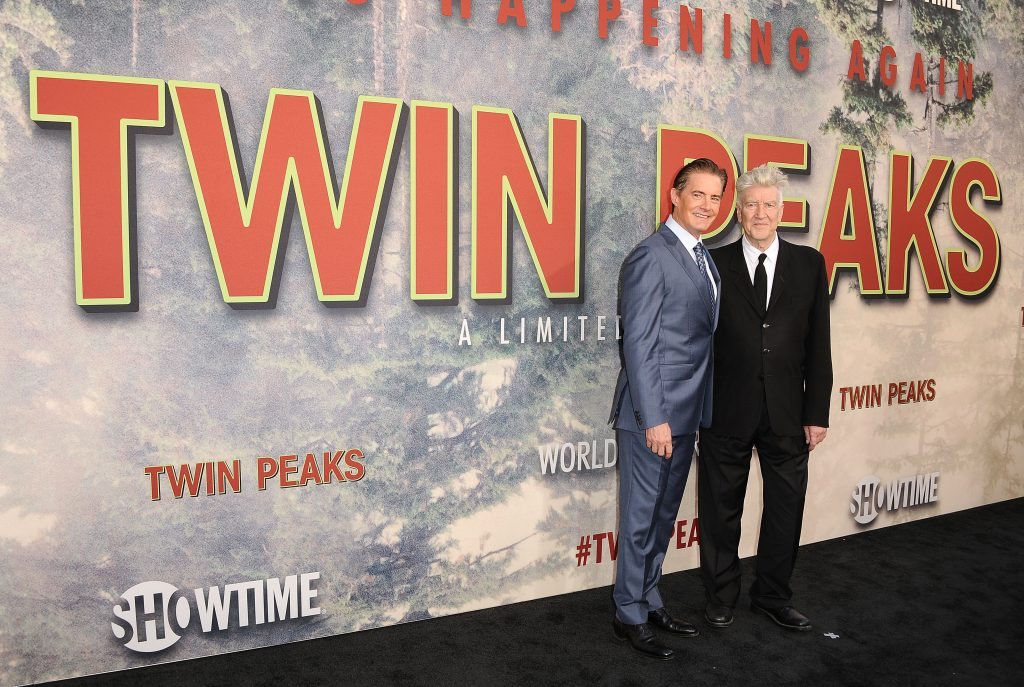 """Kyle MacLachlan and David Lynch attend the premiere of """"Twin Peaks: The Return."""""""