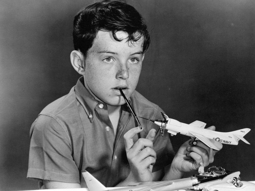 A still shot of Jerry Mathers as Beaver Cleaver