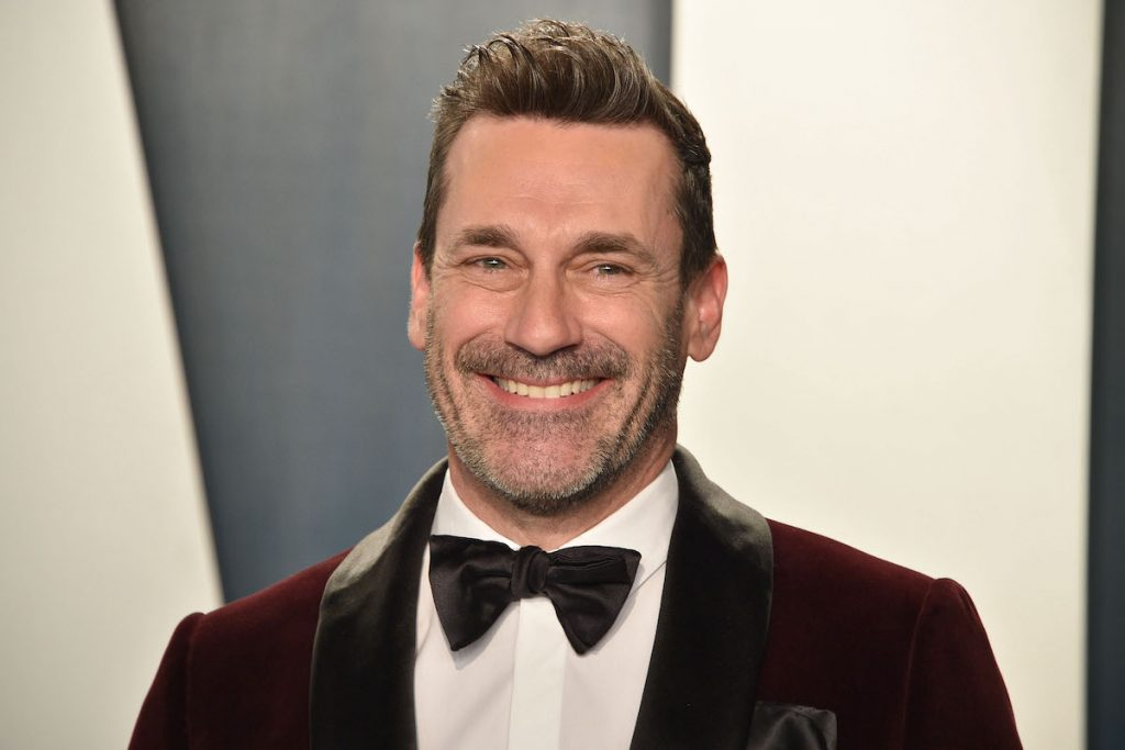 Jon Hamm attends the 2020 Vanity Fair Oscar Party at Wallis Annenberg Center for the Performing Arts on February 09, 2020 in Beverly Hills, California | David Crotty/Patrick McMullan via Getty Images