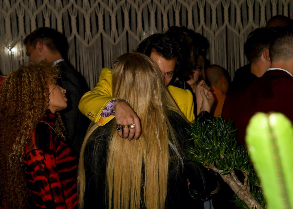 Harry Styles at a party