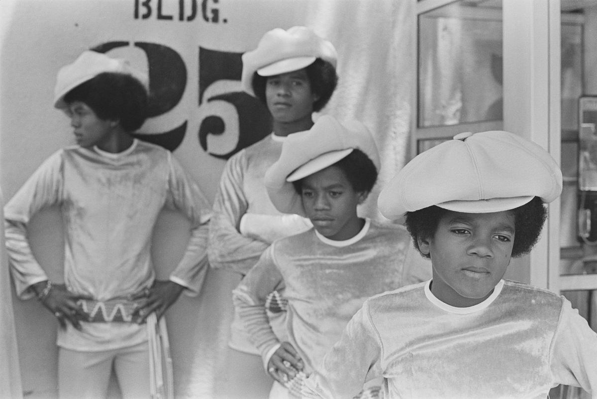 Jackie, Jermaine, Marlon and Michael Jackson