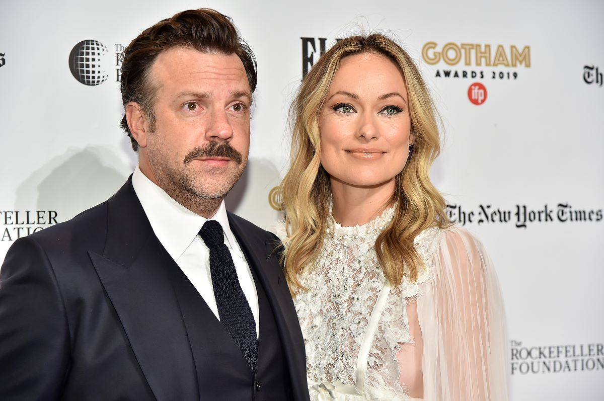 Jason Sudeikis and Olivia Wilde attend the IFP's 29th Annual Gotham Independent Film Awards at Cipriani Wall Street on December 02, 2019 in New York City