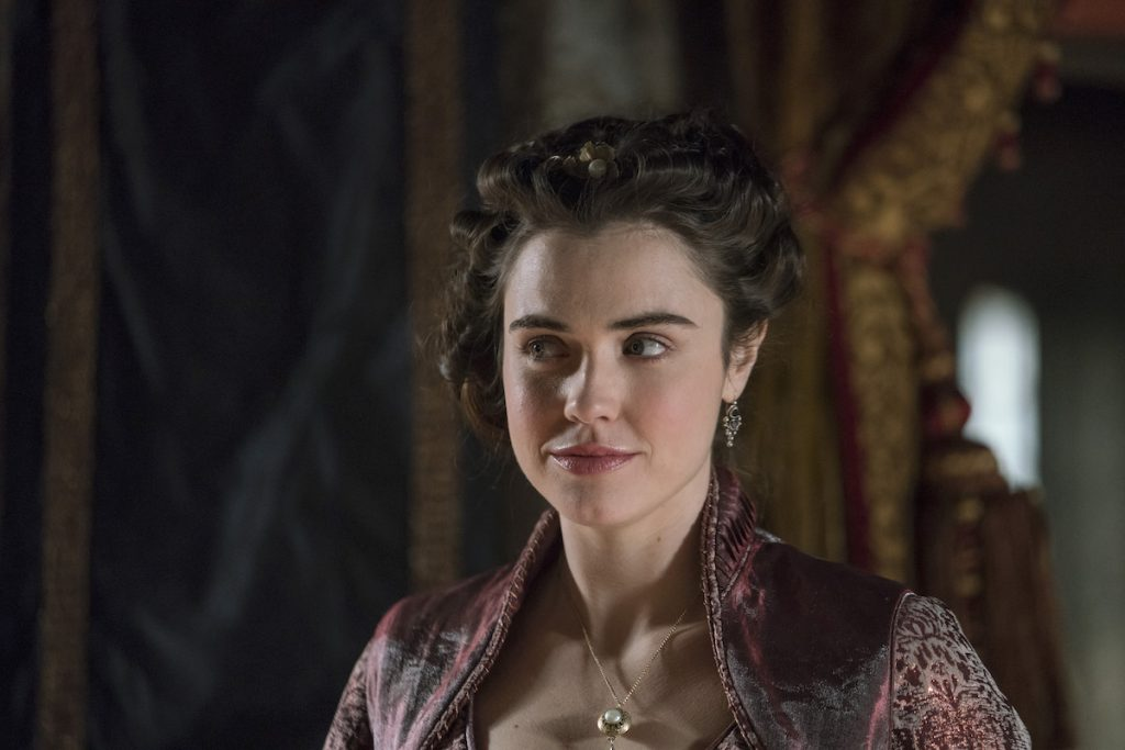 Jennie Jacques in 'Vikings'