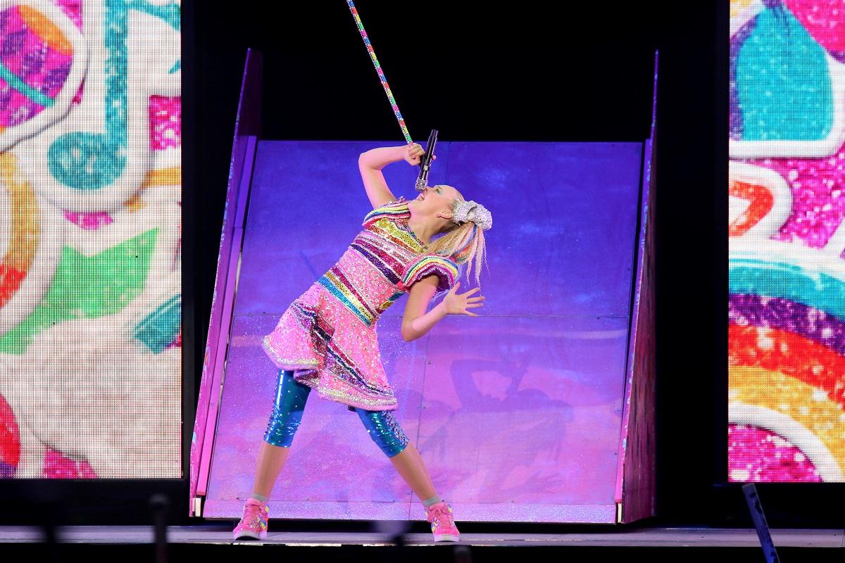 JoJo Siwa performing in Las Vegas