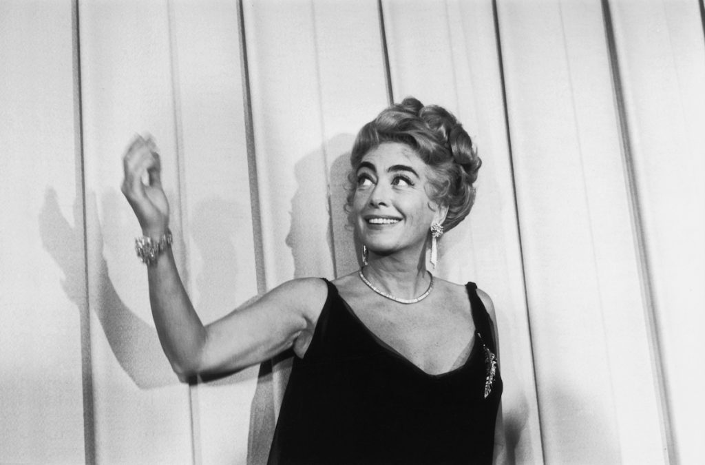 Joan Crawford (1904 - 1977) at the Oscars award ceremony in Hollywood   William Lovelace/Express/Getty Images