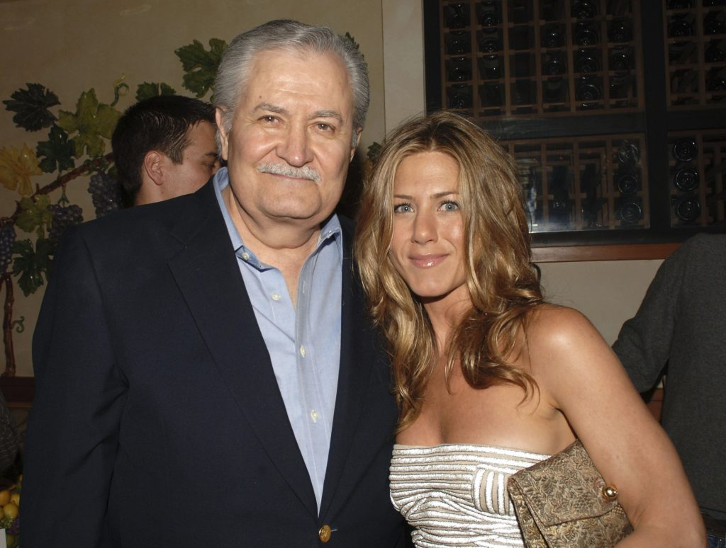 John Aniston and Jennifer Aniston attend the after party for 'The Break-Up'