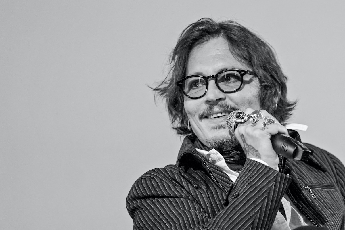 Johnny Depp speaks at the Zurich Film Festival