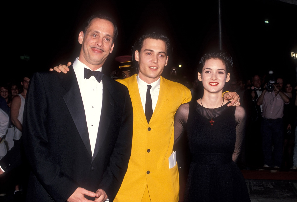 John Waters, Johnny Depp and Winona Ryder