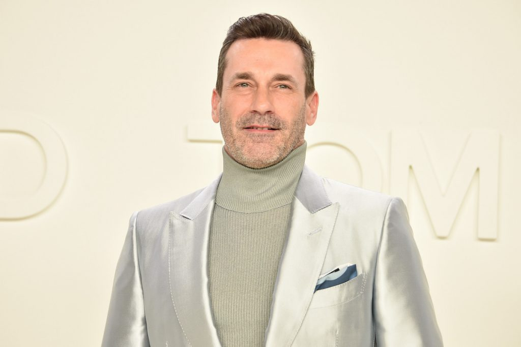 Jon Hamm attends the Tom Ford AW/20 Fashion Show at Milk Studios on February 07, 2020 in Los Angeles, California | David Crotty/Patrick McMullan via Getty Images