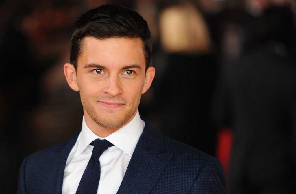 """Jonathan Bailey attends the UK Premiere of """"Testament of Youth"""" at Empire Leicester Square on January 5, 2015 in London, England 
