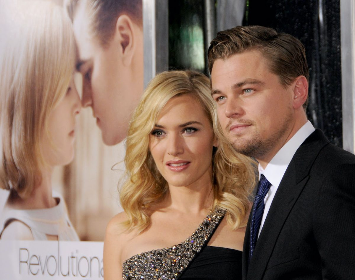 Leonardo DiCaprio and Kate Winslet at the Los Angeles Premiere of 'Revolutionary Road'
