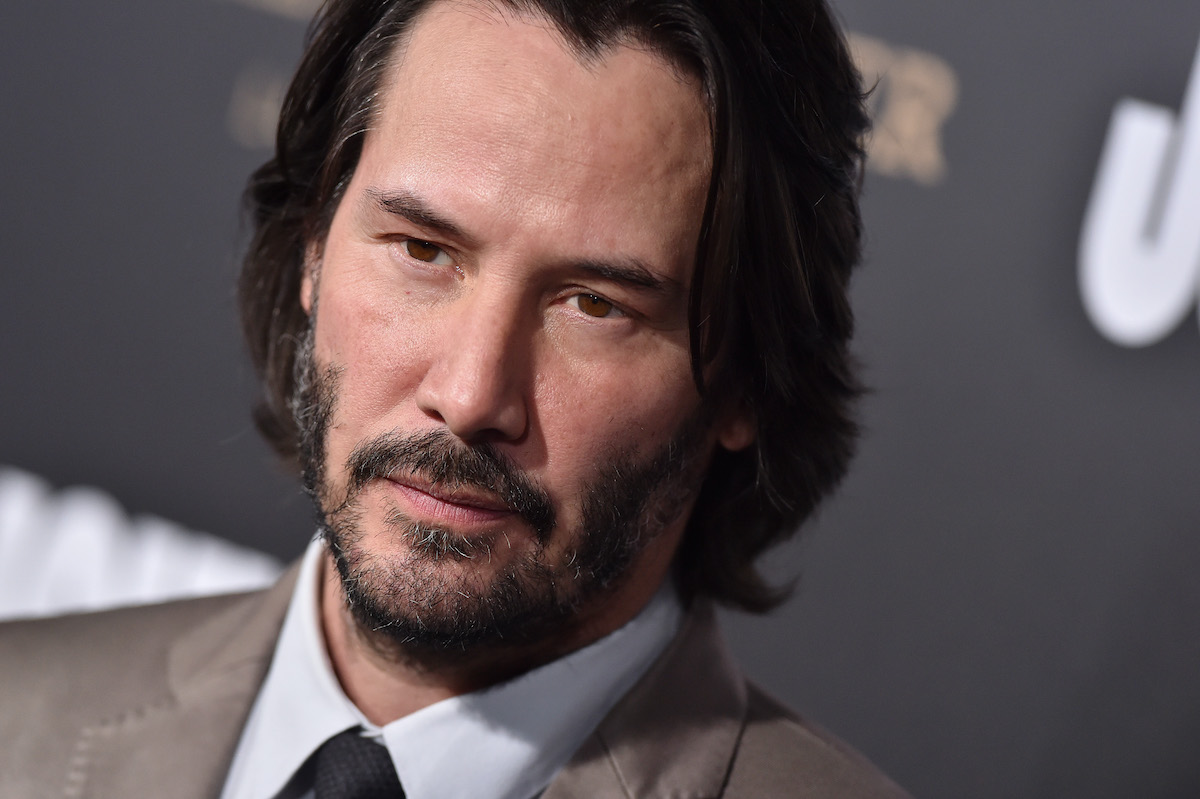 Keanu Reeves at the 'John Wick: Chapter 2' premiere