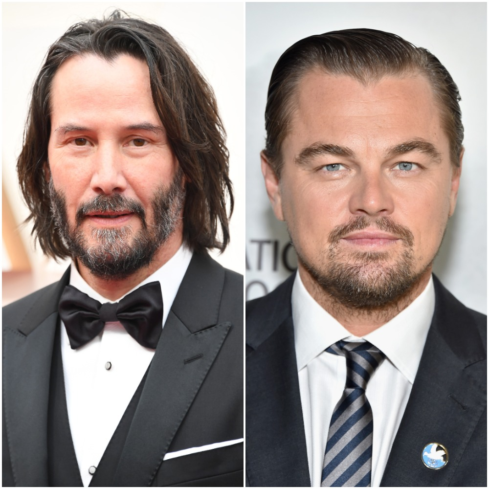 Keanu Reeves; Leonardo DiCaprio