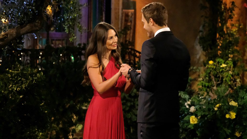 Kelley Flanagan and Peter Weber on 'The Bachelor' Season 24 premiere in 2020