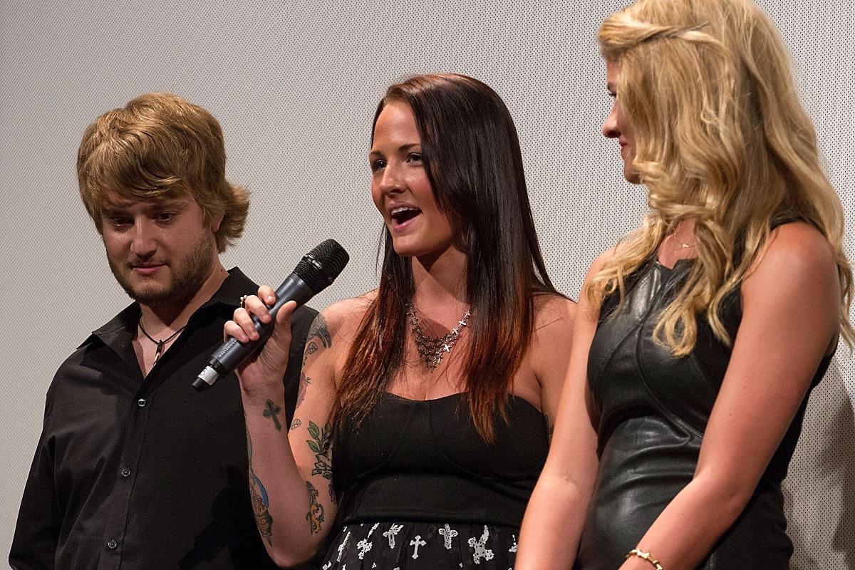 Kevin Clark, Veronica Afflerbach, and Jordan-Claire Green