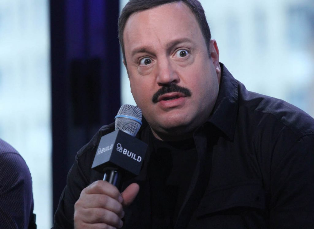 Kevin James attends AOL Build Speaker Series:  Kevin James, David Henrie and Andy Fickman at AOL Studios In New York on April 13, 2015 in New York City.