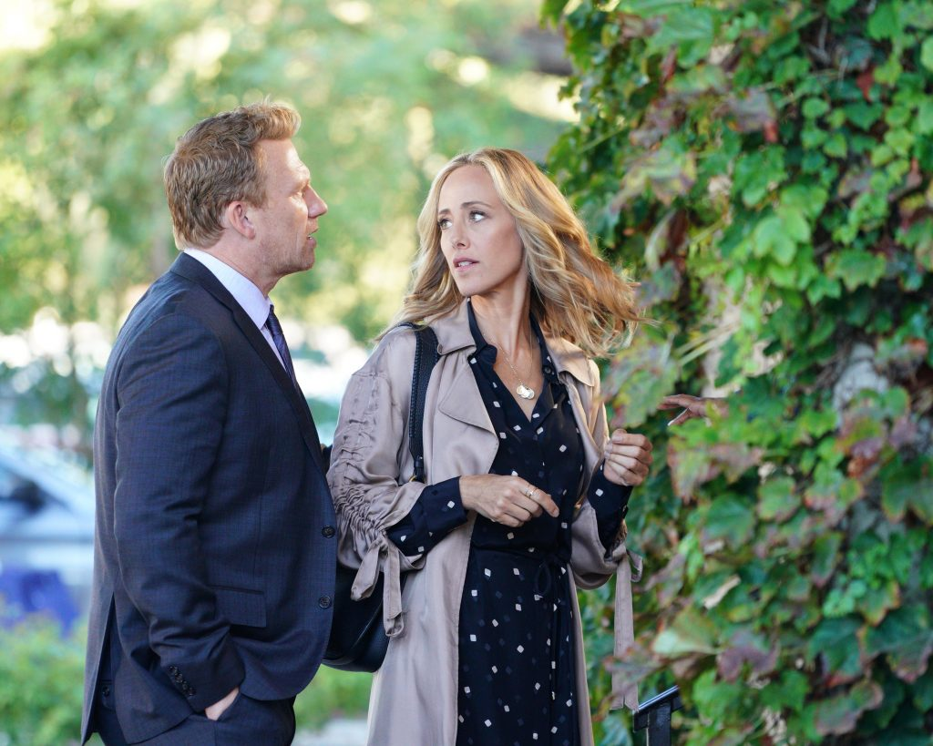 'Grey's Anatomy' stars Kevin McKidd and Kim Raver