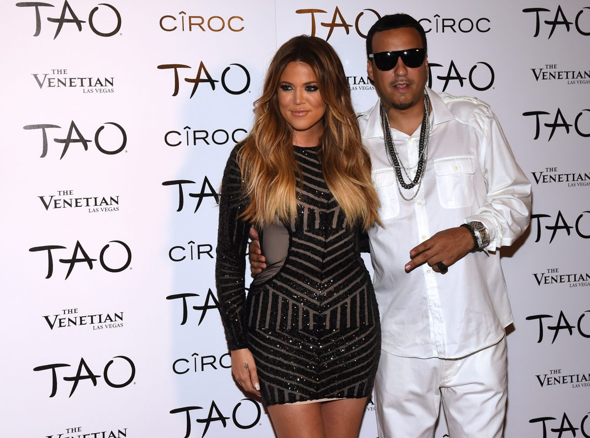 LAS VEGAS, NV - JULY 04: Television personality Khloe Kardashian (L) and rapper French Montana arrive at the Tao Nightclub at The Venetian Las Vegas to celebrate her birthday on July 4, 2014 in Las Vegas, Nevada. Kardashian turned 30 on June 27.