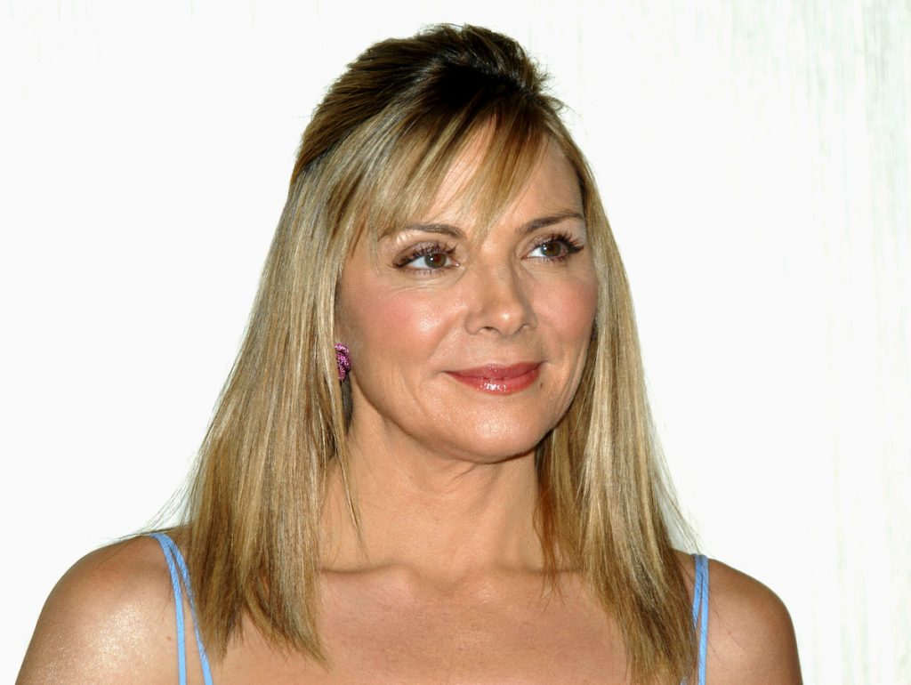 Kim Cattrall during The Celebratory Launch of Kim Cattrall as the New Face of Spark Seduction by Liz Claiborne at Hotel Gansevoort in New York City | Shane Gritzinger/FilmMagic