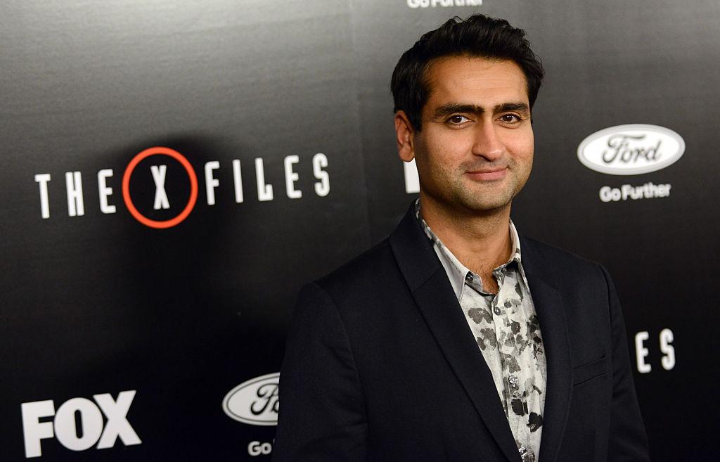 Kumail Nanjiani at the X-Files premiere