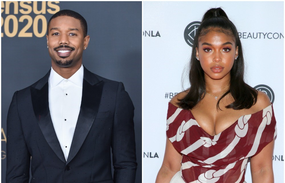 (L) Michael B. Jordan, (R) Lori Harvey