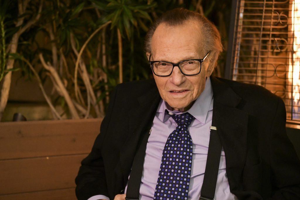 What was Larry King's net worth at the time of his death?