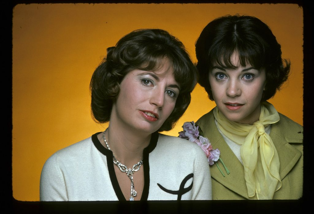 Penny Marshall and Cindy Williams on 'Laverne & Shirley'