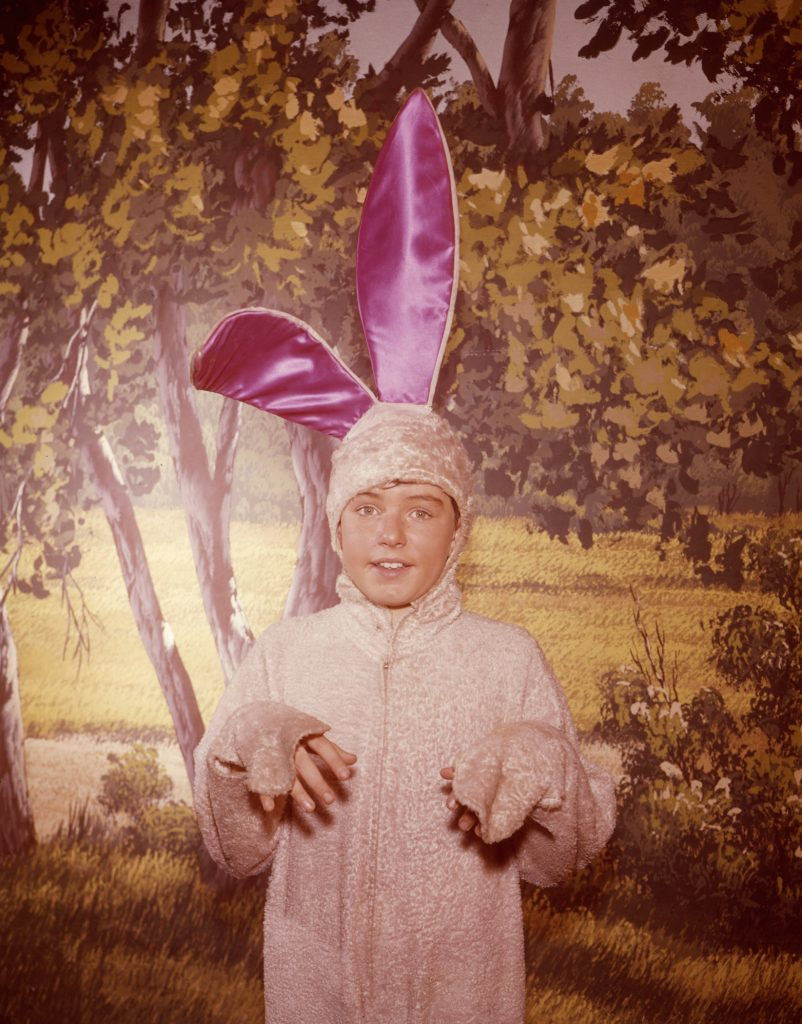 1960-61, Jerry Mathers from 'Leave It to Beaver'