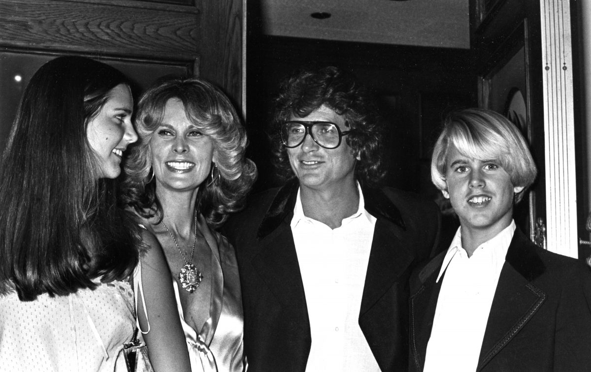 LOS ANGELES - FEBRUARY 20: Actor Michael Landon, wife Lynn Noe, daughter Leslie Landon and son Michael Landon Jr. attend Fourth Annual People's Choice Awards on February 20, 1978 in Los Angeles, California.