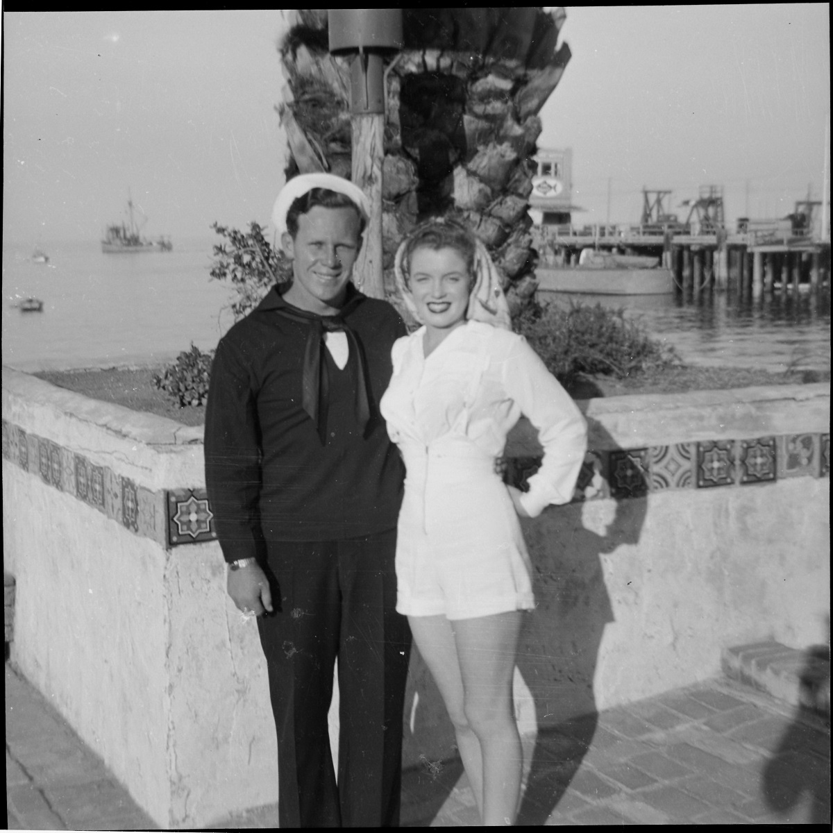 Norma Jeane Baker and James Dougherty