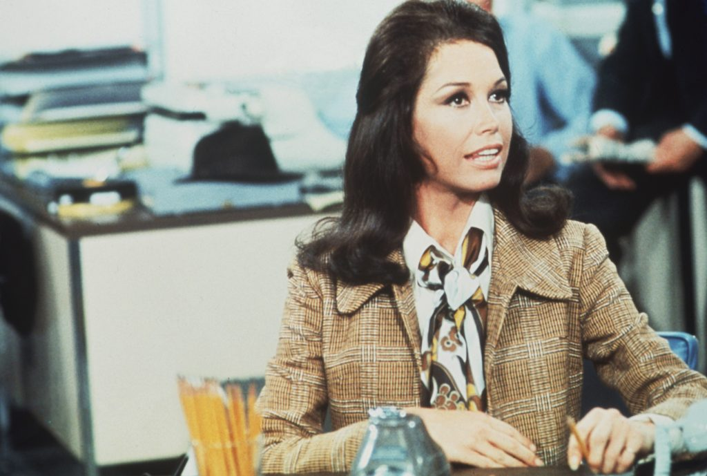 Mary Tyler Moore as Mary Richards on 'The Mary Tyler Moore Show'