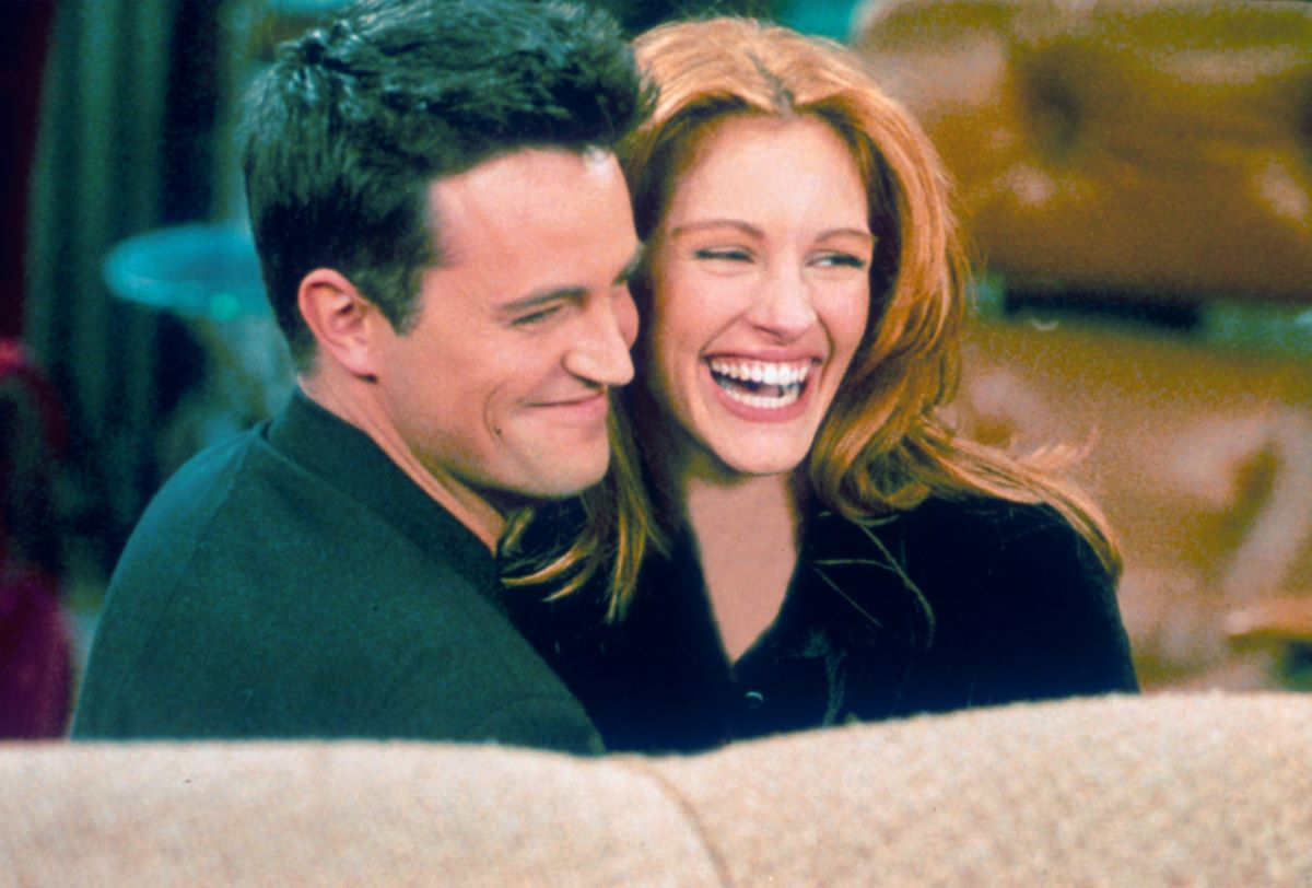 Matthew Perry and Julia Roberts