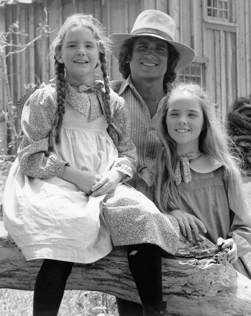 Melissa Gilbert, Michael Landon, and Melissa Sue Anderson of 'Little House on the Prairie'
