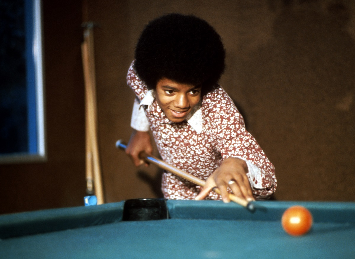 Michael Jackson in 1972