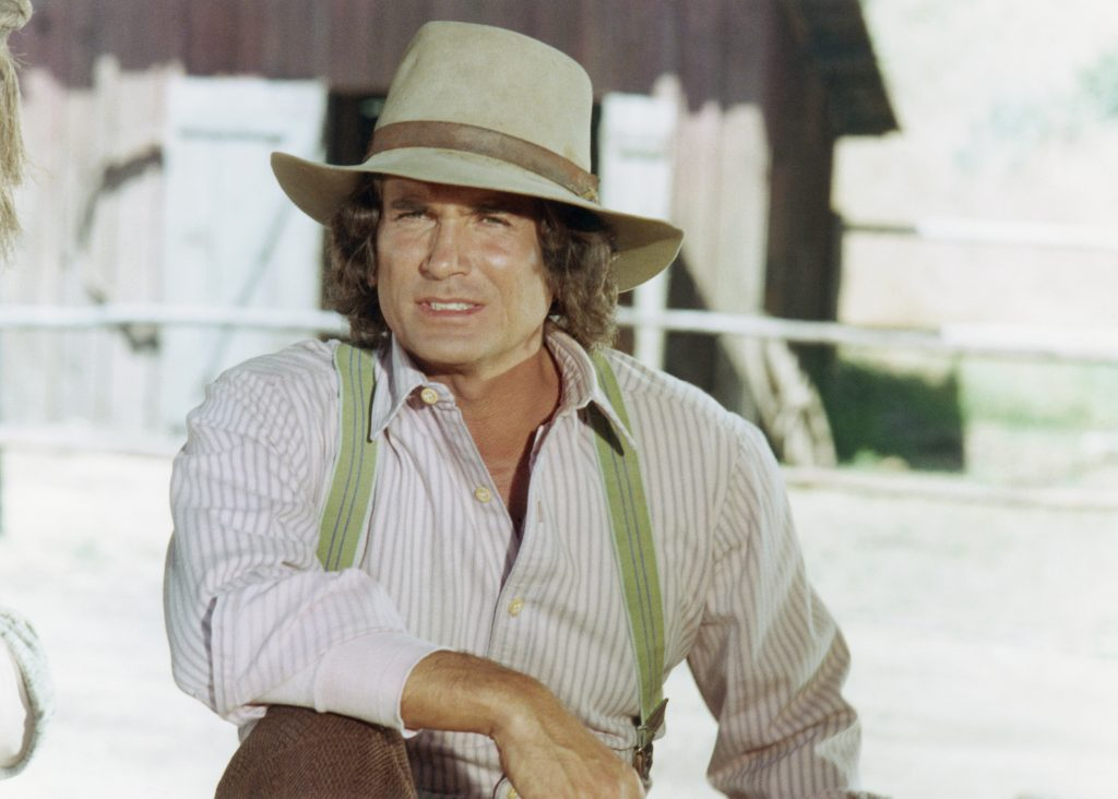 Michael Landon as Charles Philip Ingalls on 'Little House on the Prairie'