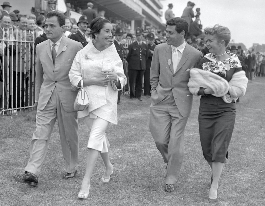 Mike Todd, Elizabeth Taylor, Eddie Fisher, and Debbie Reynolds | PA Images via Getty Images