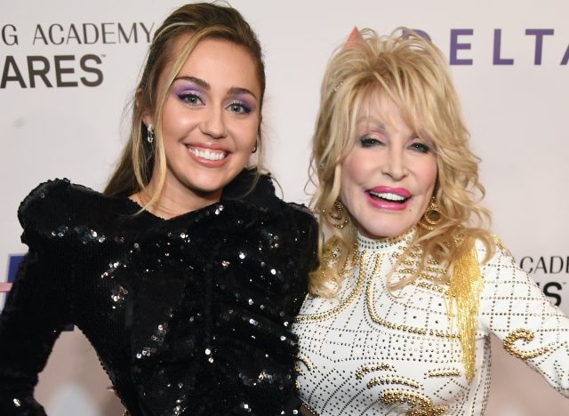 Dolly Parton Isn't Actually Miley Cyrus' Godmother